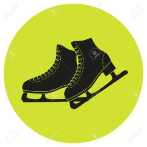 Сергей Воронов - Страница 32 68785673-the-skates-icon-on-the-green-background-figure-skates-symbol-flat-illustration--300x300